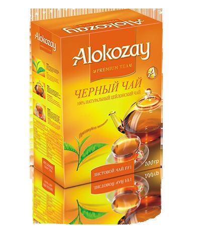 мелколистовой черный чай алокозай