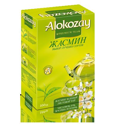 чай с жасмином алокозай