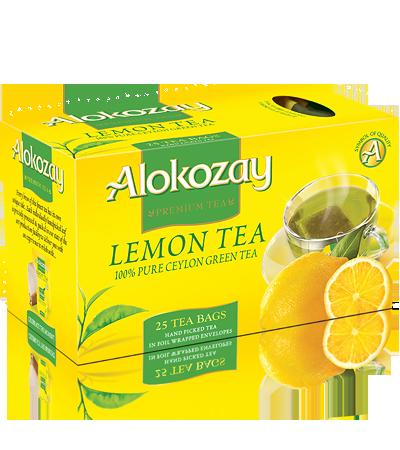 чай алокозай с лимоном