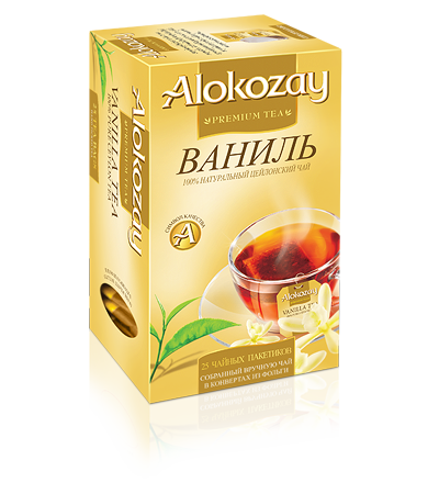alokozay аромат ваниль