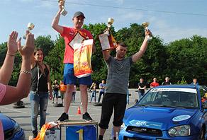 Соревнования по скоростному спринт-слалому г. Хмельницкий