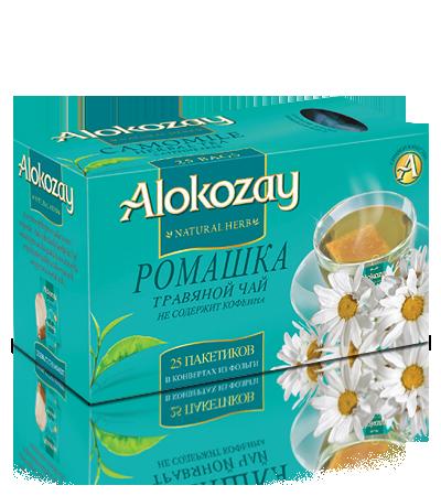 alokozay чай с ромашкой