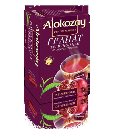 травяной гранатовый чай алокозай