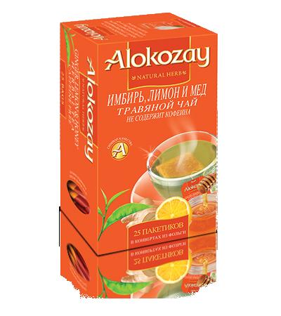 имбирь, мед и лимон - чай алокозай