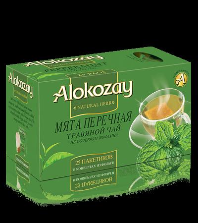 чай перечная мята alokozay
