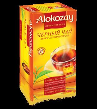 черный чай alokozay в конвертах