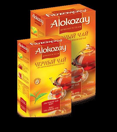 крупнолистовой чай alokozay BOP1