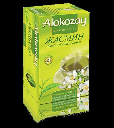 чай с жасмином alokozay
