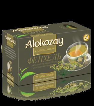чай alokozay с фенхелем