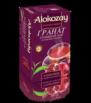 травяной чай гранат alokozay