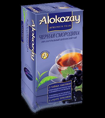 чай черная alokozay смородина