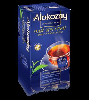 чай с бергамотом alokozay
