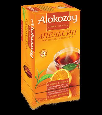 черный чай alokozay апельсин