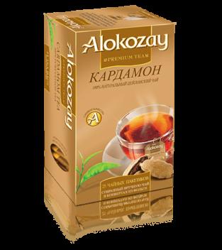 чай alokozay кардамон