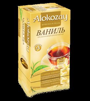 чай alokozay ваниль